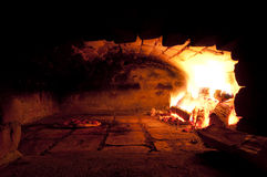 пицца печи стоковые фотографии rf