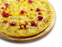 пицца плодоовощ ягоды Стоковые Изображения