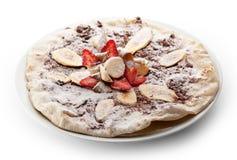 Пицца плодоовощ стоковое изображение rf