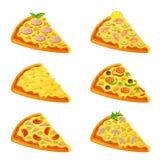 пицца различная иллюстрация штока