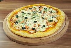 Пицца Регина стоковые фотографии rf
