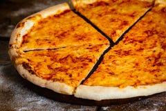 Пицца сыра Стоковая Фотография RF