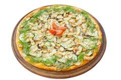 Пицца с грибами Стоковая Фотография