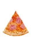 Пицца с маргаритой, сыром, ветчиной для меню стоковое фото