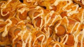 Пицца с сосиской Стоковые Фото