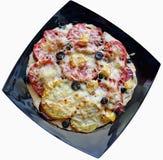 Пицца с томатами Стоковое Фото
