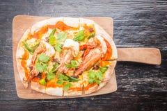 Пицца Тома yum стоковое изображение