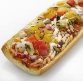 Пицца французского хлеба стоковая фотография rf