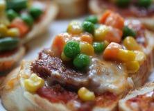 пицца хлеба Стоковое Фото