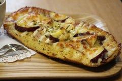 Пицца хлебопекарни хлеба хлебопекарни Стоковые Фото