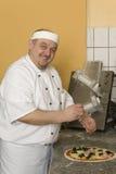 пицца хлебопеков Стоковая Фотография RF