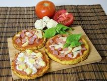 Пицца цветной капусты Стоковая Фотография RF