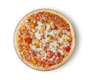 Пицца цыпленка барбекю Стоковое фото RF