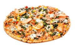 Пицца цыпленка Стоковые Фото