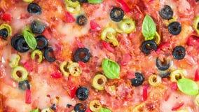 Пицца сток-видео