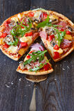 Пицца стоковое изображение
