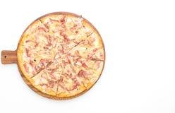 Пицца flambé Tarte стоковые фото