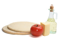 пицца ingridients Стоковые Фотографии RF
