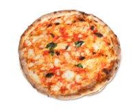 Пицца Margherita Стоковое Изображение