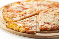Пицца Margherita Стоковое Фото