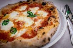 Пицца Margherita Стоковая Фотография