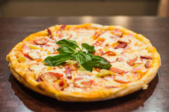 Пицца Margherita Стоковое фото RF