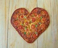 Пицца Margherita Стоковые Изображения RF