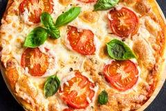 Пицца Margherita Стоковые Фотографии RF