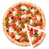 Пицца Margherita Стоковые Фото