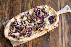 Пицца Ortolana Стоковое Изображение RF