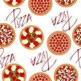 0626 пицца patterns-02 Стоковое фото RF