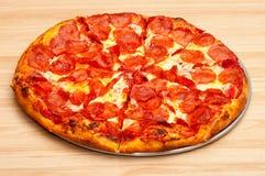 Пицца Pepperoni Стоковое Изображение RF