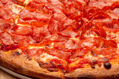 Пицца Pepperoni Стоковая Фотография