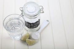 Пищевая сода стоковое изображение