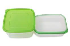 2 пищевого контейнера Стоковые Фотографии RF