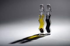 Пищевое масло и уксус Стоковая Фотография RF