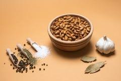 Пищевой ингредиент фасоли Брауна стоковые изображения