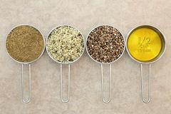 Пищевые ингредиенты пеньки стоковое фото rf