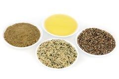 Пищевые ингредиенты пеньки Стоковая Фотография RF