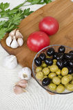 Пищевые ингредиенты Стоковые Изображения