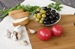 Пищевые ингредиенты Стоковая Фотография RF