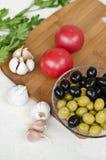 Пищевые ингредиенты Стоковое Изображение