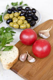 Пищевые ингредиенты Стоковые Фотографии RF