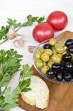 Пищевые ингредиенты Стоковое Фото