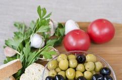 Пищевые ингредиенты Стоковое Изображение RF