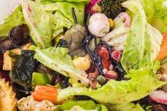 Пищевые отходы и утили стоковые фото