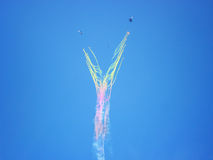 Пилотажное ` Руси ` команды Ангел цвета Стоковые Изображения RF