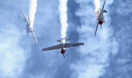 3 пилотажных воздушного судна Стоковое Изображение
