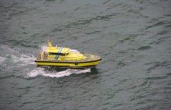 Пилотный сосуд, Arataki в гавани Тауранги Стоковое Фото