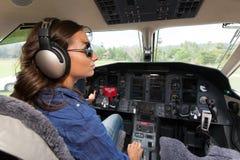 Пилот женщин Стоковая Фотография RF